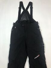 Spyder Stryke XT Black Snowboard Ski Snow Pants Bib Strap Overall - Mens Medium