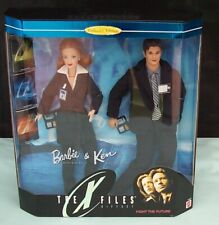 Barbie & Ken X-Files Gift Set Dolls Mattel 19630 Collector's Edition c1998 Boxed