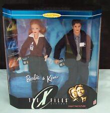 Barbie & Ken X-Files Gift Set Dolls Mattel 19630 Collector's Edition c1998 Boxed