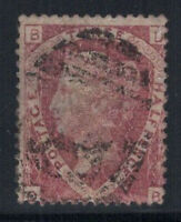 Großbritannien 1870 Mi. 37 Gestempelt 80% Königin Victoria, 3/2 P.
