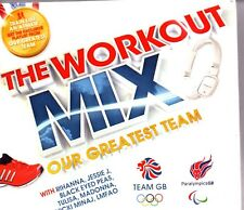 THE WORKOUT MIX: Our Greatest Team - Various Artists - 3xCD Album *NEW & SEALED*