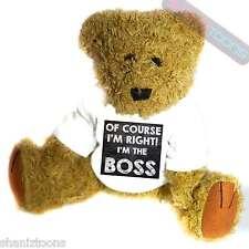 Boss Office Gift Novelty Gift Teddy Bear