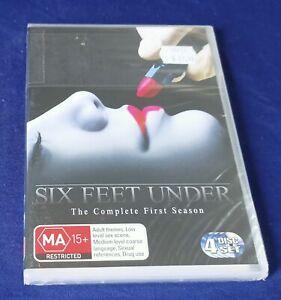 Six Feet Under : Season 1 (DVD, 4-Disc Set, Drama TV Series) - BRAND NEW