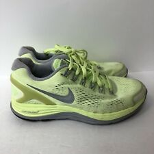 nike lunarglide 4 Running Shoes Sneakers Women Size 6.5 Green Color