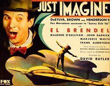 Just Imagine - 1930 - El Brendel Maureen O'Sullivan - Vintage Film Sci-Fi DVD