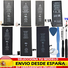 KIT BATERIA PILA INTERNA REPUESTO REEMPLAZO PARA IPHONE 4 4S 5 5S 5C 6 6+ Plus