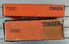 Timken Bearing Retainer Kit P39363 P39361 & - large nut & washer