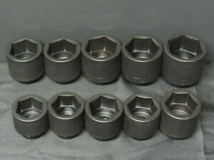 Williams 30922 10-Piece 1//4-Inch Drive Shallow 6 Point Socket Set