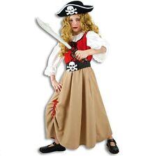 Fries 11276 Piratenmädchen Kinder Kostüm Gr 128