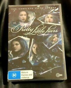 Pretty Little Liars : Season 5 (2015 : 6 Disc DVD Set) Brand New Sealed Region 4