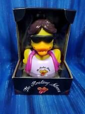 Floating Stones CelebriDuck Blond Rubber Duck Mick Jagger Fans NIB NEW!