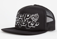 METAL MULISHA WOMEN'S CHEAP TRUCKER BLACK CAP HAT MESH SNAPBACK SHIPS IN BOX!