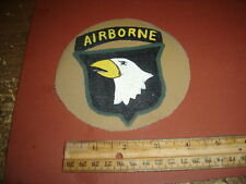 WWII USA SCREAMING EAGLE 101 ST AIRBORNE DIVISION   FLIGHT JACKET PATCH