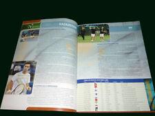 TENNIS DAVIS CUP 2011 - DEL POTRO - NALBANDIAN Official Program ARGENTINA
