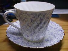 Vintage Russland LFZ Lomonosov Porzellanmanufaktur Kaffee Tasse + Untertasse