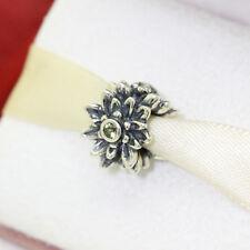 * Authentic Pandora Edelweiss Flower 791176CZY * Retired Rare