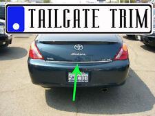 Toyota SOLARA 2004 2005 2006 2007 2008 Chrome Tailgate Trunk Trim Molding