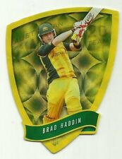 Cricket Australia Select 2009/10 DIE CUT FDC48 BRAD HADDIN TWENTY 20 TEAM CARD