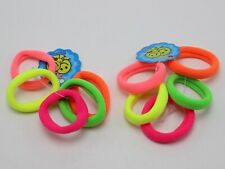 50 Mixed Color Soft Fabric Elastic Hair Rope Band Mini Ponytail Holder for girls