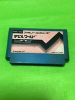 Game Famicom Devil World Nintendo NES Japan Tested Cleaned Terminal