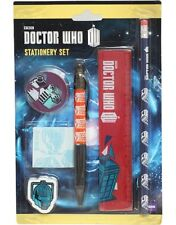 "Doctor Who Stationery Set-grande valore e un ideale ""OGNI TEMPO"" regalo-NUOVO"
