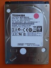 320 GB Toshiba MQ01ABD032 | AX001A | 27 OCT 2012 | hard disk