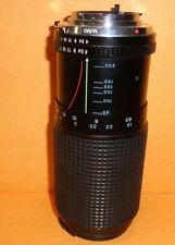 Tokina RMC 80 200mm f4 Zoom Lens Minolta M/MD Mount - Japan - One Cap