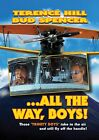 ALL THE WAY BOYS Terence Hill, Bud Spencer NEW ALL REGION UK COMPATIBLE DVD NTSC