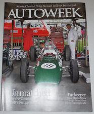 Autoweek Magazine 2015 Ford Mustand & Firekeeper October 2014 120514R