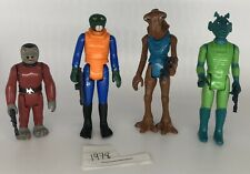 CANTINA CREW 1978 Vintage Star Wars Action Figures Complete 100% Authentic