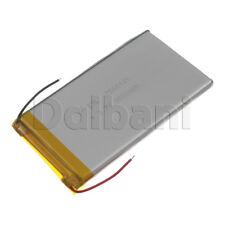 New 3.7V 8000mAh Internal Li-ion Polymer Built-in Battery 120x64x7mm 29-16-1076