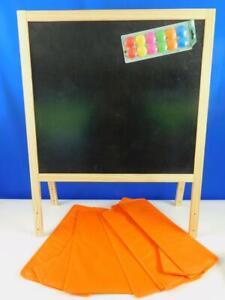 Magicfun Kinder Staffelei Kreidetafel Whiteboard Holztafel Buchstaben Zahlen