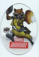 2016 Upper Deck Marvel Annual Plexi Die-Cuts #PD-8 Rocket Raccoon