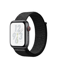 NEW Apple Watch Nike+ Series 4 44mm Gray Aluminum Case Sport Loop GPS Cellular
