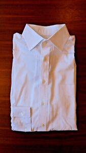 Ascot Change Dress Shirt 15.75 White Spread Collar - Made in Hong Kong
