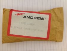 Andrew N type Female RF connector for LDF2-50 heliax, Andrew type L42N