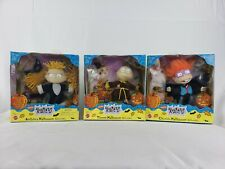 Rugrats Halloween Collectible Dolls Angelica, Tommy, Chuckie - lot of 3