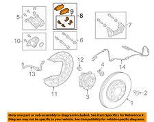 CHRYSLER OEM 16-17 200 Brake-Rear Pads 68225301AD