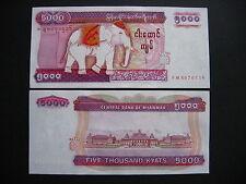 MYANMAR (BURMA)  5000 Kyats 2009  (P81)  UNC