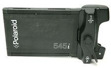 "Polaroid Back 545i For Single Instant Film 4x5"". Ex. Working."