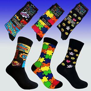 Fröhlich bunte Socken, Baumwolle, handgekettelte Naht, weicher Bund, 2 Paar