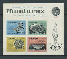 LATIN AMERICA - HONDURAS - 1964 MI 6B BLOC -  TIMBRES NEUFS** MNH LUXE