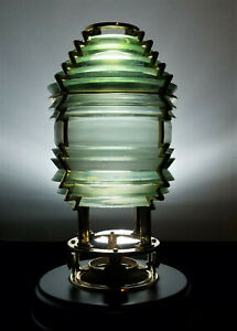 HARBOUR LIGHTS 5th Order #631 FRESNEL GLASS LENS Limited Edition 2457 / 4000 EX