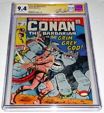 """Conan the Barbarian #3 CGC SS Signature Autograph STAN LEE """"Spears of Clontarf"""""""