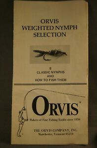 ORVIS WEIGHTED NYMPH SELECTION