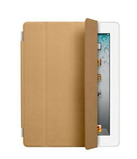 Genuine Apple iPad Smart Cover Leather Tan for iPad 2/3/4 Generation #7115
