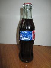 1996 NEW ENGLAND PATRIOTS AFC Champions Coke Commemorative Bottle