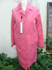 Mackintosh Original Womens Size M - 36 Pink Cotton Trench Coat  Brand New