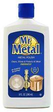 Metal Polish,Copper,Stainless,C hrome,Aluminum, Mr. Metal 8 oz