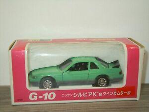 Nissan Silvia K's Twin Cam Turbo - Diapet G-10 Japan 1:40 in Box *53080
